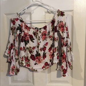 Ambience  floral top size s